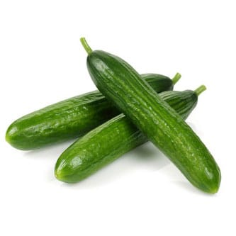 Cucumbers Snack Greenhouse Vegetables